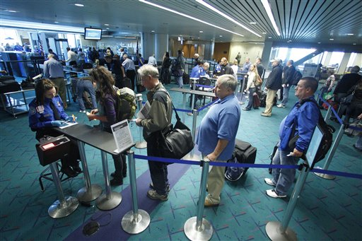 Traveling Thru Security Check Points