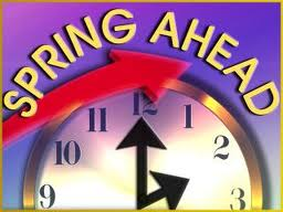 Don't Forget To Adjust Your Time To Daylight Saving Time