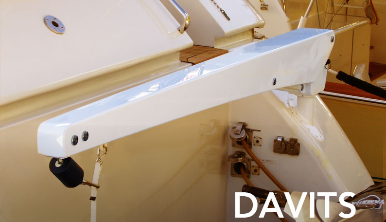 If You Own A Yacht, You Want To Consider Getting A Davit