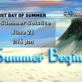 Yesterday is the longest day of the year here in United States and the first day of summer. But it was not a good start of summer for the reason […]
