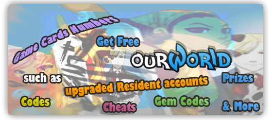 OurWorld Cheat Codes That Are Free