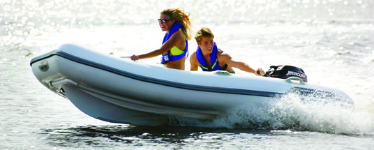 Yacht Tender Match Inflatable Boats Mean Fun For The Summer