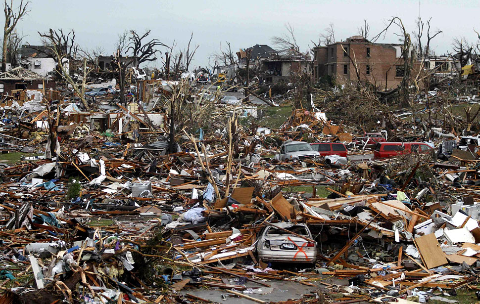 Devastating Tornados Hit Midwest Makes Me Think