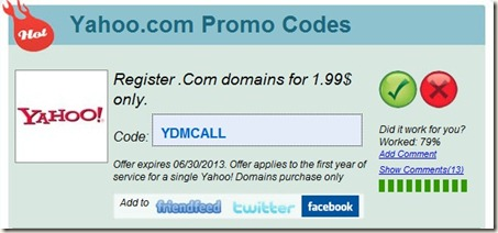 Save By Using A Yahoo Small Business Promo Codes